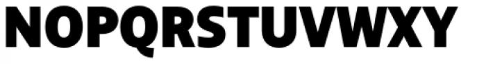 BigCity Grotesque Pro Heavy Font UPPERCASE