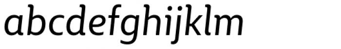 BigCity Grotesque Pro Italic Font LOWERCASE