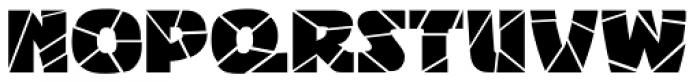 Bigband Terrazzo Font UPPERCASE