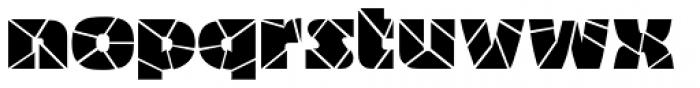 Bigband Terrazzo Font LOWERCASE