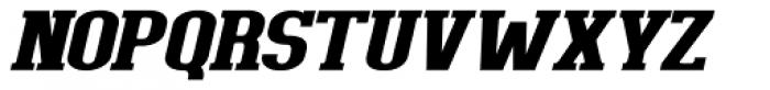 Bigboy Black Italic Font UPPERCASE
