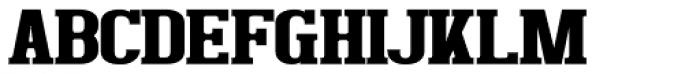 Bigboy Black Font UPPERCASE