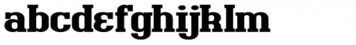 Bigboy Black Font LOWERCASE