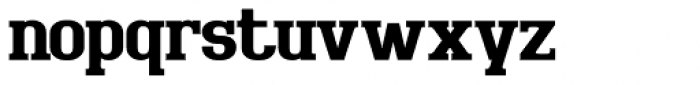 Bigboy Bold Font LOWERCASE
