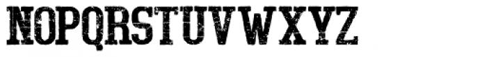 Bigboy Fifty Font UPPERCASE