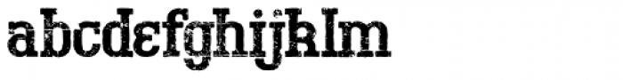 Bigboy Fifty Font LOWERCASE