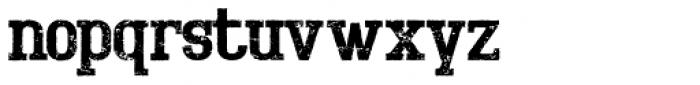 Bigboy Forty Font LOWERCASE