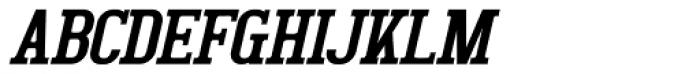 Bigboy Italic Font UPPERCASE