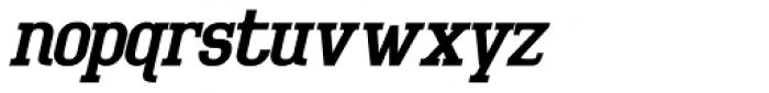 Bigboy Italic Font LOWERCASE