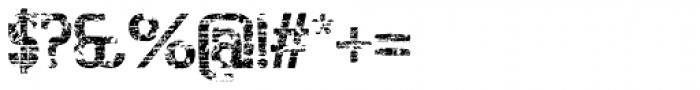Bigboy Seventy Font OTHER CHARS