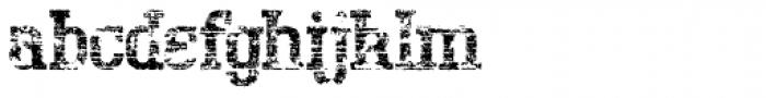 Bigboy Seventy Font LOWERCASE