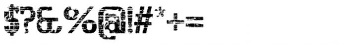 Bigboy Sixty Font OTHER CHARS