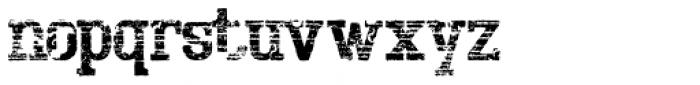 Bigboy Sixty Font LOWERCASE
