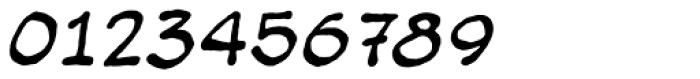 Bigbrain Italic Font OTHER CHARS