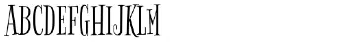 Bigelow Rules Pro Font UPPERCASE