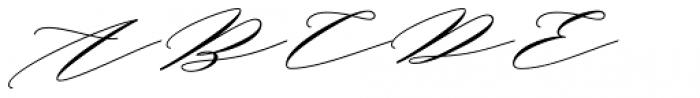 Bignay Regular Font UPPERCASE