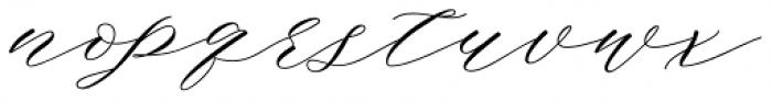 Bignay Regular Font LOWERCASE