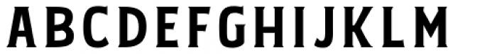 Bignord Regular Font UPPERCASE