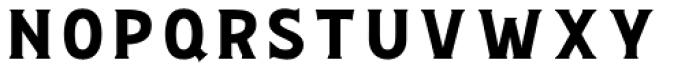 Bignord Regular Font LOWERCASE