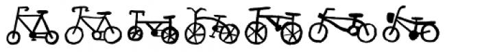 Bike Park Bike Font UPPERCASE