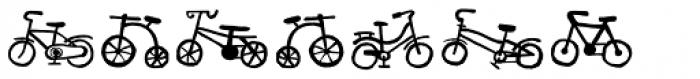 Bike Park Two Bike Font OTHER CHARS