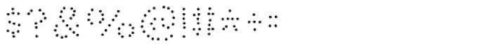 Bike Power Dot Font OTHER CHARS