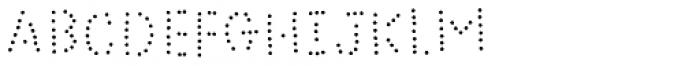 Bike Power Dot Font UPPERCASE