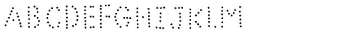Bike Power Dot Font LOWERCASE