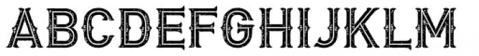 Biker New Rough Simple Font UPPERCASE