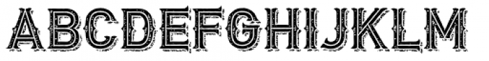 Biker New Rough Font LOWERCASE