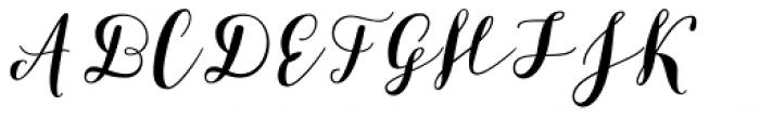 Bikini Season Script Font UPPERCASE