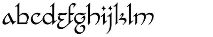 Bilbo Regular Font LOWERCASE