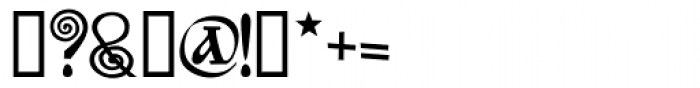 Bilibin Font OTHER CHARS