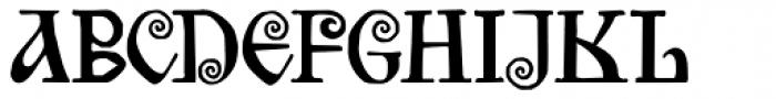 Bilibin Font UPPERCASE