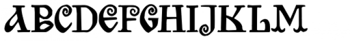 Bilibin Font LOWERCASE