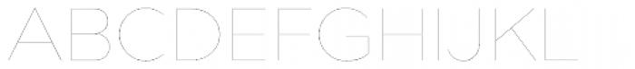 Bill Corporate Medium Four Font UPPERCASE