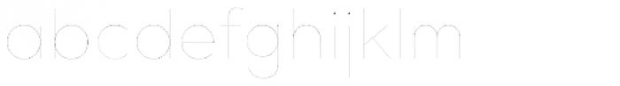 Bill Corporate Medium Two Font LOWERCASE