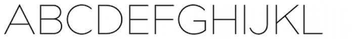 Bill Corporate Medium Ultralight Font UPPERCASE