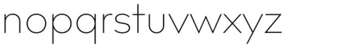 Bill Corporate Medium Ultralight Font LOWERCASE