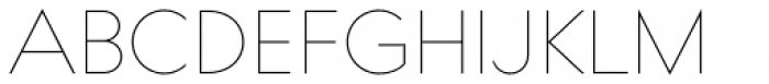 Bill Corporate Narrow Thin Font UPPERCASE