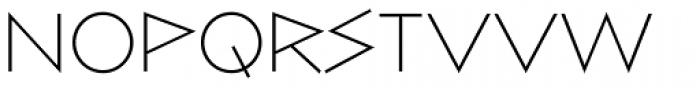 Bill Display Medium Extralight Font LOWERCASE