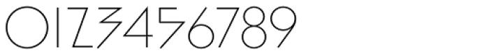 Bill Display Medium Ultralight Font OTHER CHARS