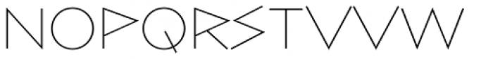Bill Display Medium Ultralight Font UPPERCASE