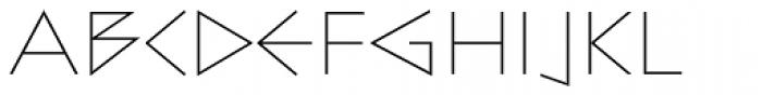 Bill Display Medium Ultralight Font LOWERCASE