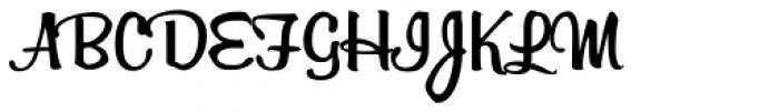 Billabong Font UPPERCASE