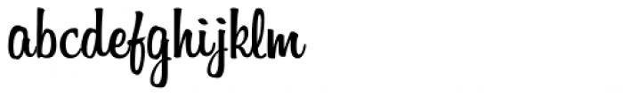 Billabong Font LOWERCASE