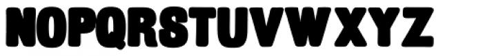 Billboard Black Font LOWERCASE