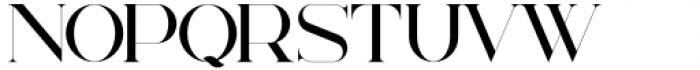 Billionaire Club Regular Font UPPERCASE