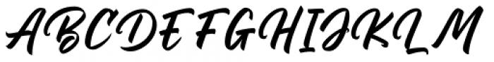 Billskates Regular Font UPPERCASE
