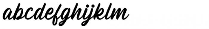 Billskates Regular Font LOWERCASE